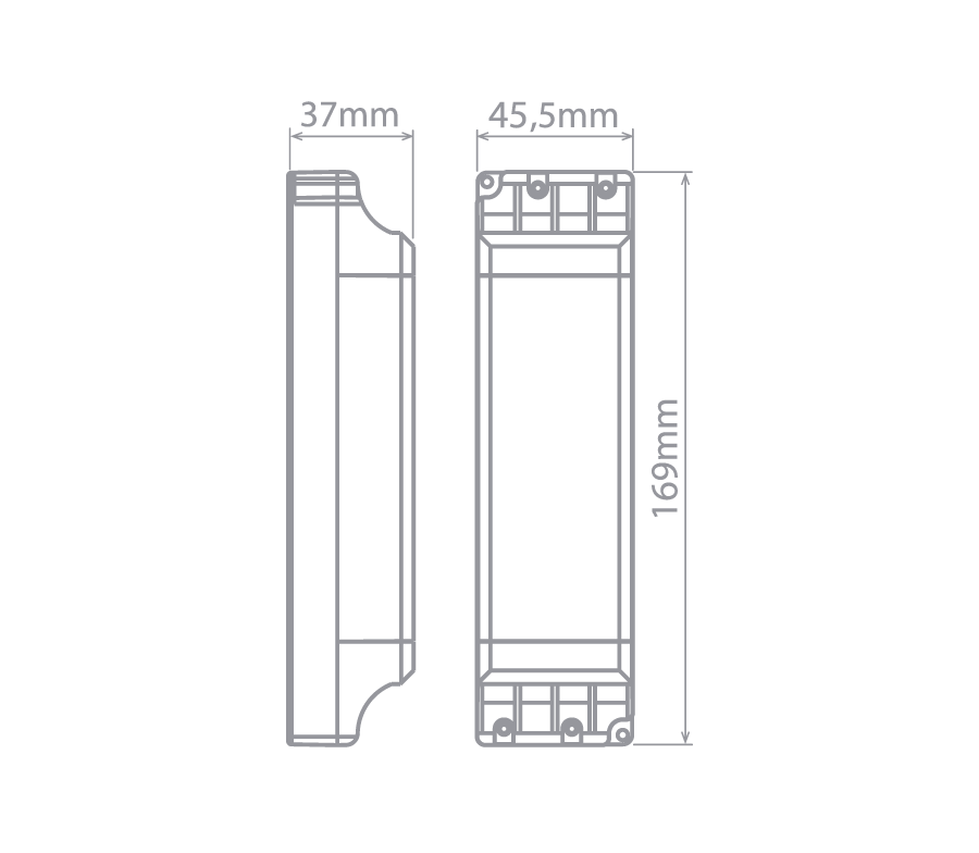 Fonte Profissional para LED 24V 60W IP 20 Stella - STH6896