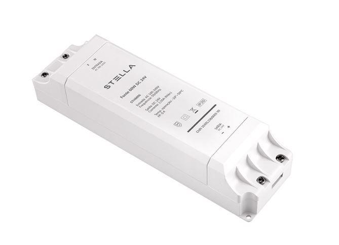 Kit 2 Fontes Profissional para LED 24V 60W IP 20 1 Ano Garantia
