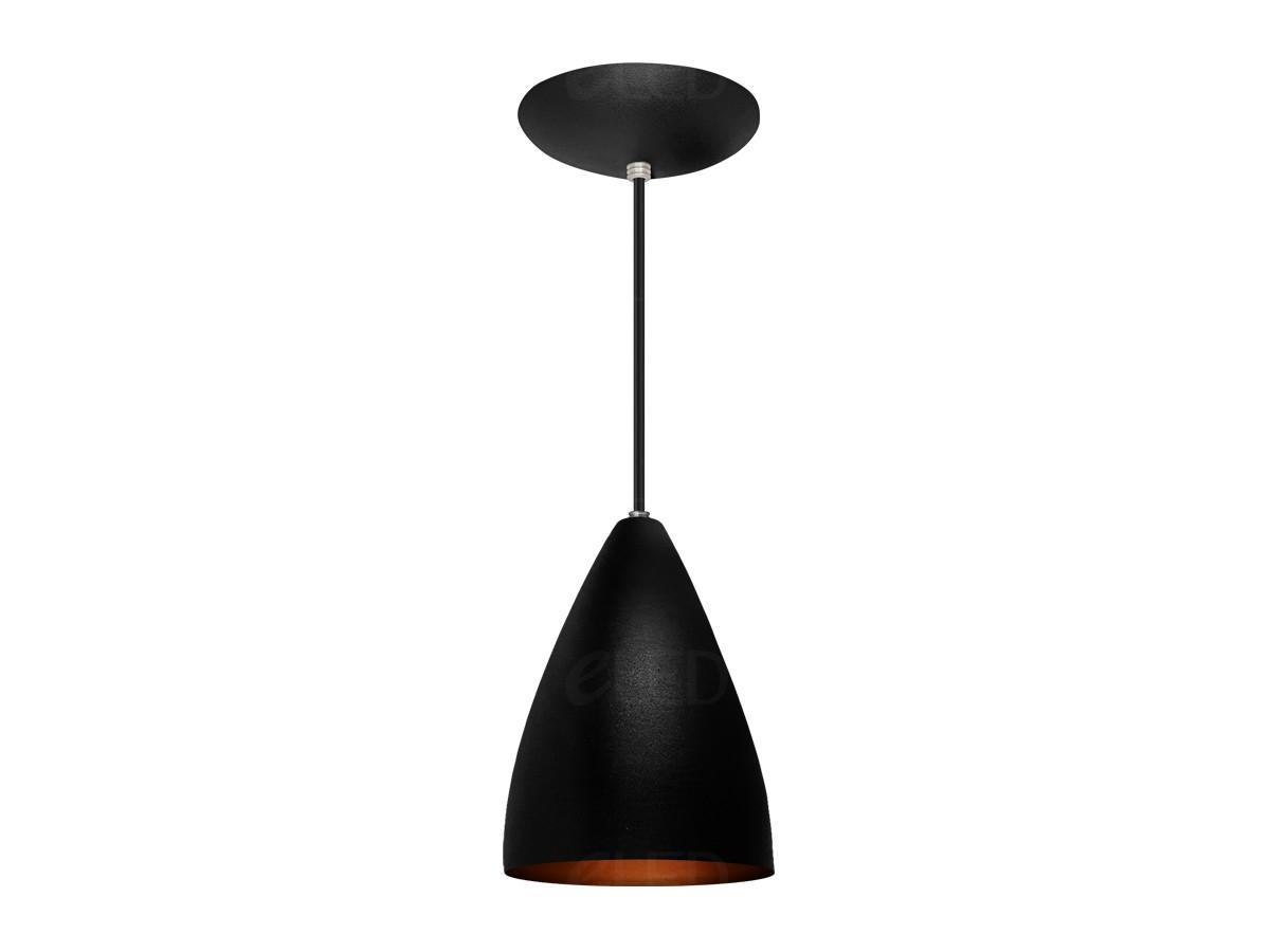 Kit 2 Lustre Pendente Cone/Funil em Alumínio  Alta Qualidade