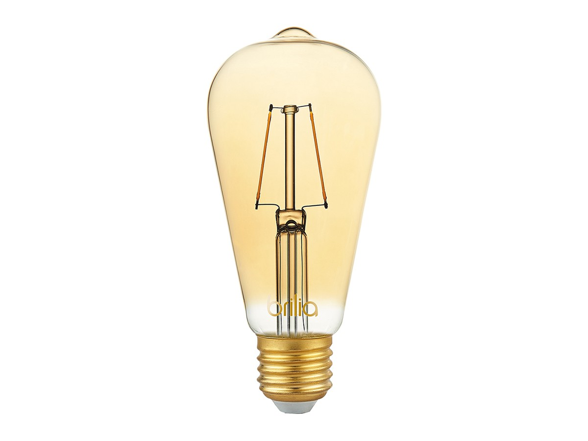 Kit 2 Pendente Aramado Diamante Preto +2 Lampadas Filamento