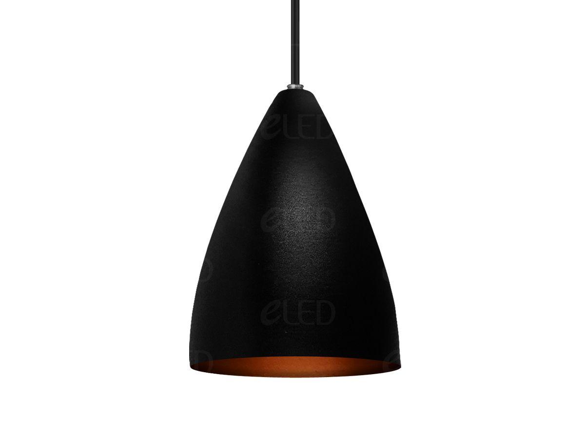 Kit 2 Pendente Cone em Alumínio Alta Qualidade