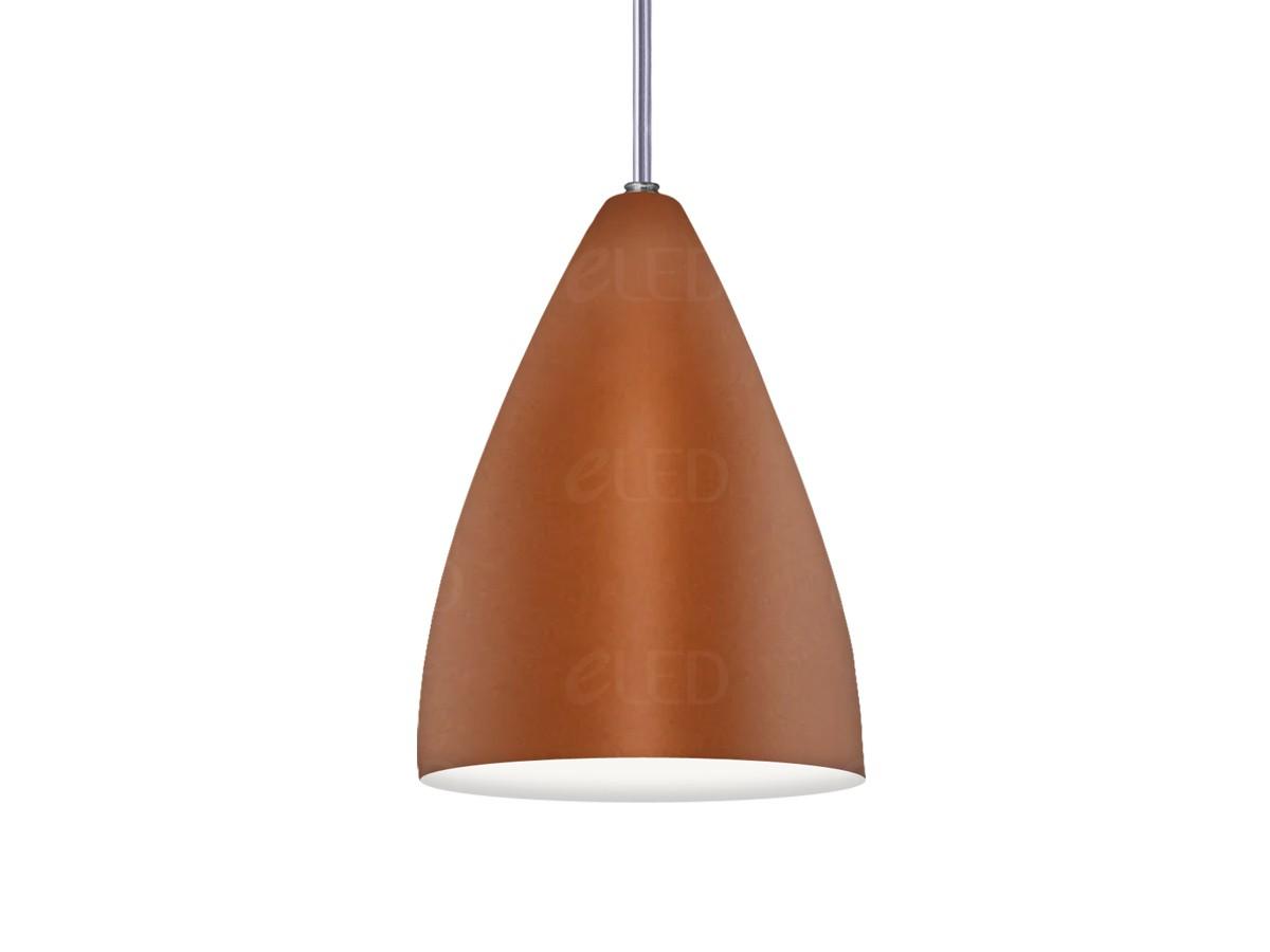 Kit 3 Lustre Pendente Cone Funil em Alumínio Alta Qualidade
