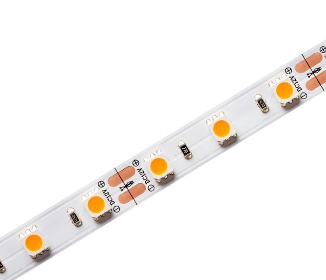 Kit 6 Fitas de Led 12W RGB/W + 5 Fontes 60W 24V + 5 Controles Infravermelho