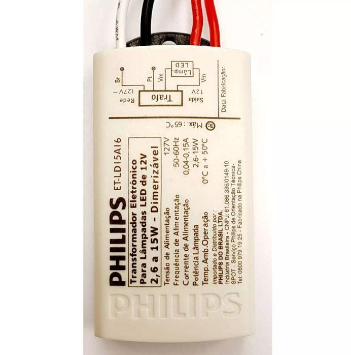 KIT 8 Tranformador Eletrônico 127V para Lâmpada Led Dimerizável