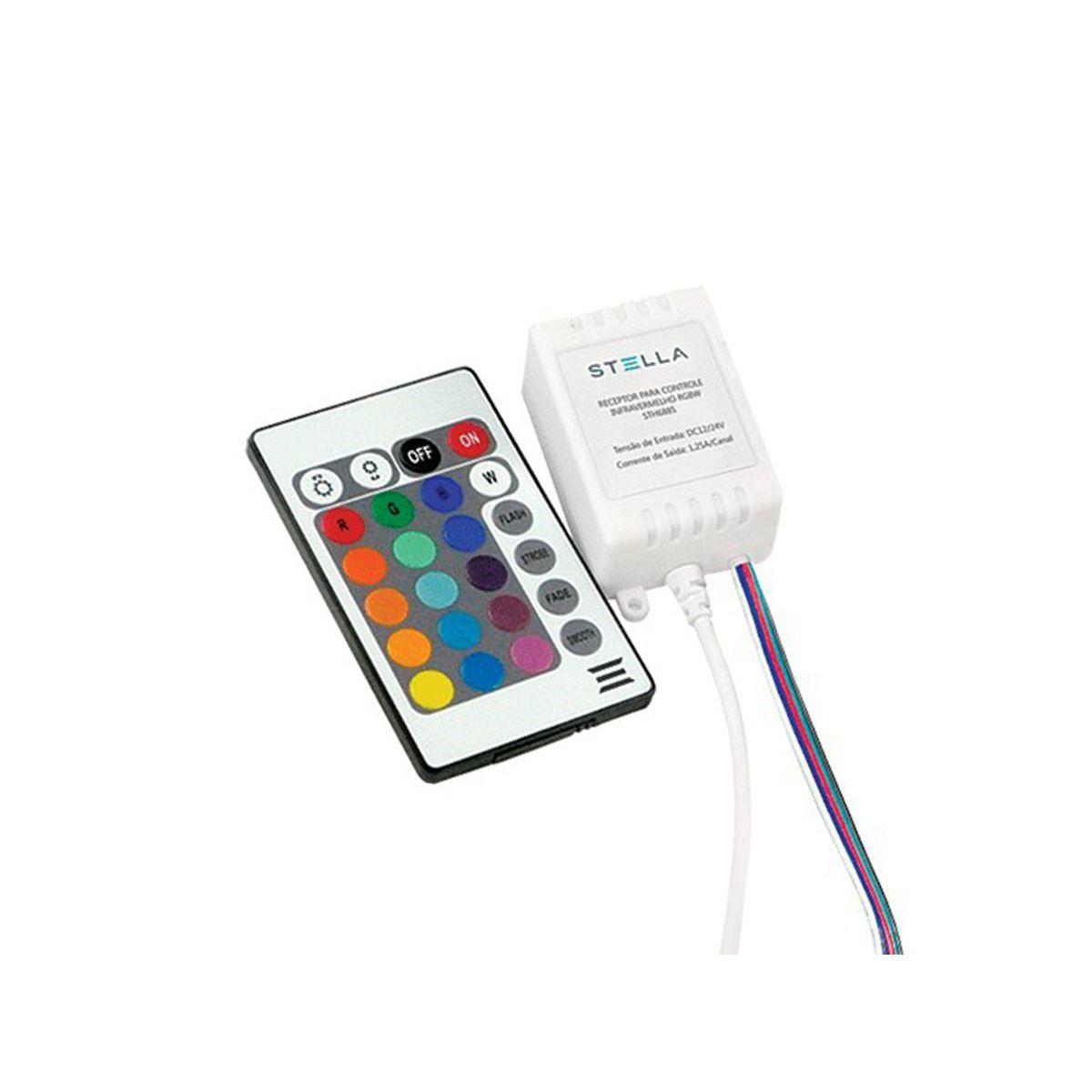 Kit fita 12w/m RGB-w +Fonte + Amplificador +Controle