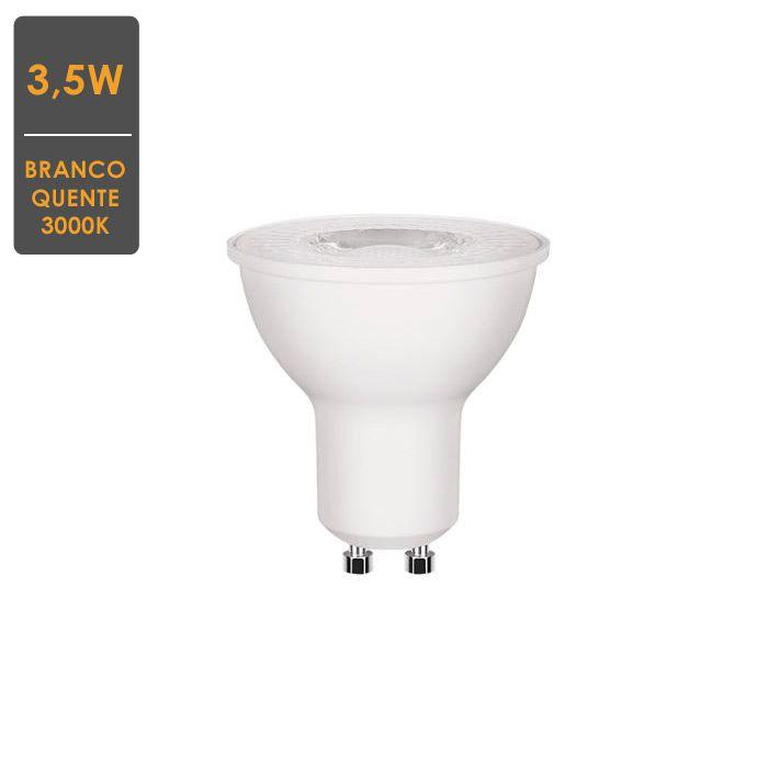 Lâmpada Dicroica 3,5W 3000K GU10 Bivolt Envio Imediato
