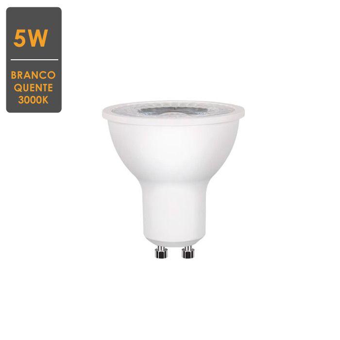 Lâmpada Dicroica 5W 3000K GU10 Bivolt - Ourolux