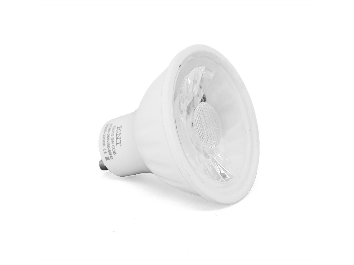 Lâmpada Dicroica LED 5W 3000-3200K GU10 AC85-265V Bivolt - ENT