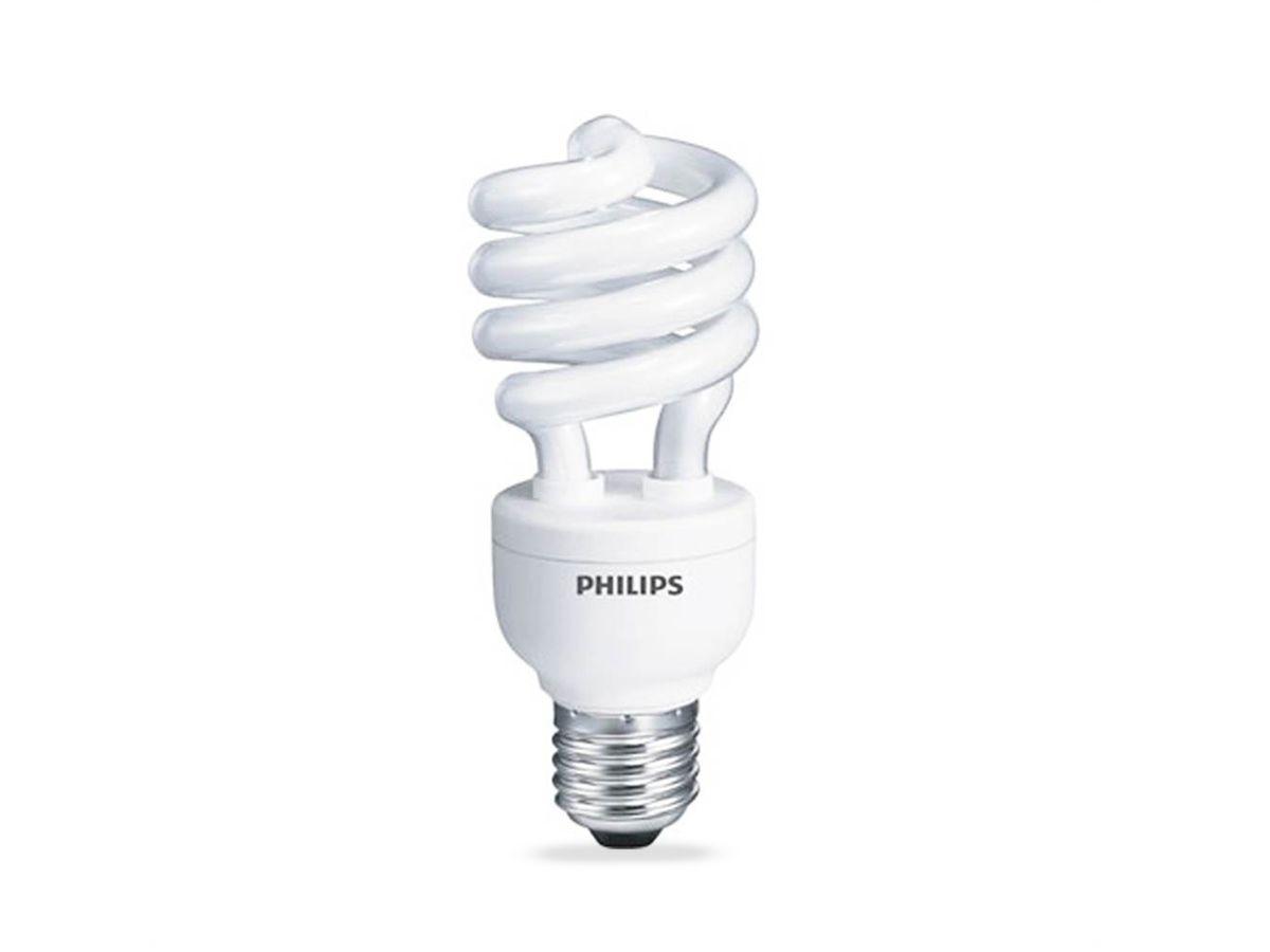 Lâmpada Fluorescente Compacta 15W 6500K Espiral 220-240V Dura 8.000h - Philips