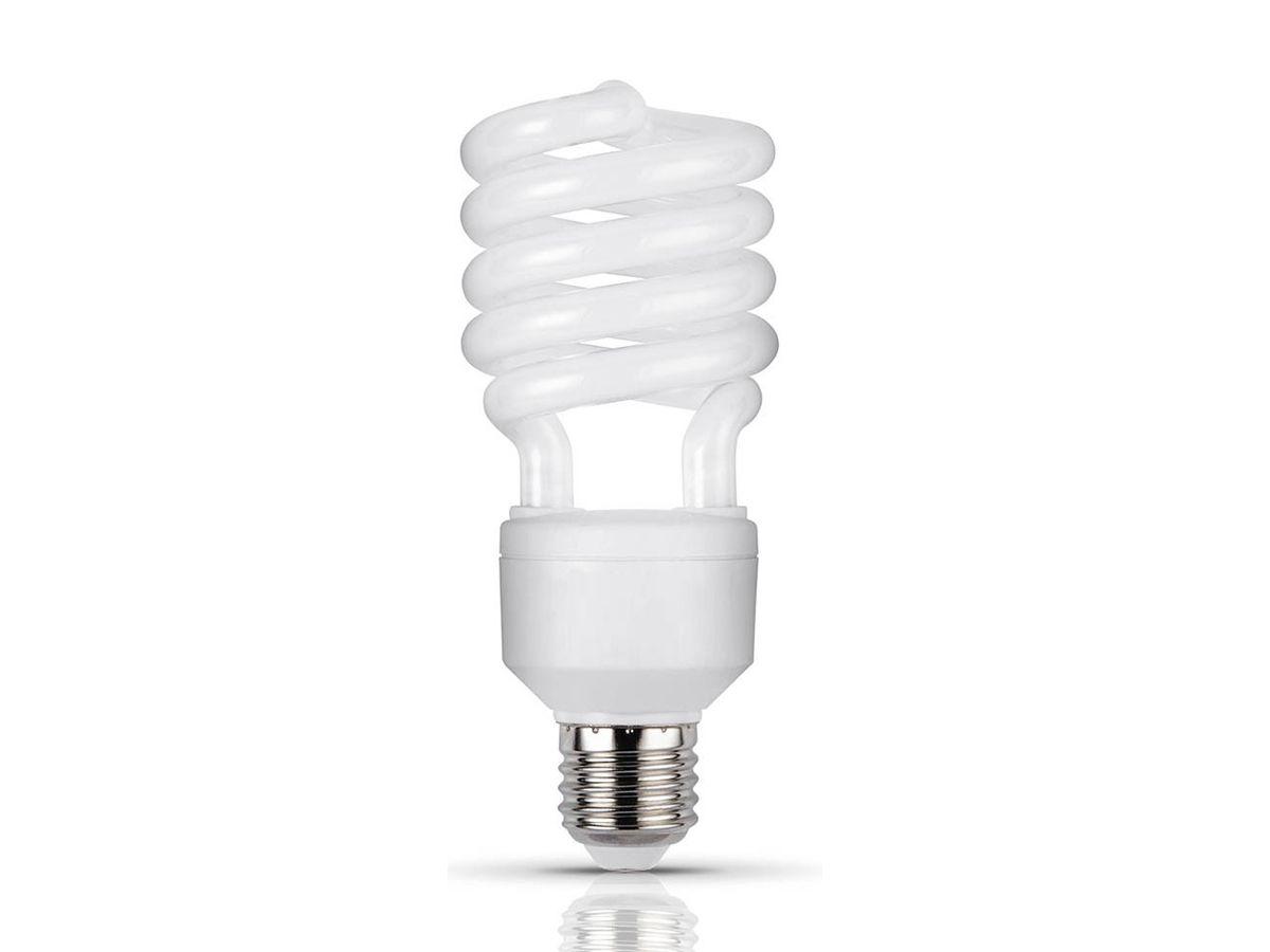 Lâmpada Fluorescente Compacta 23W  6400K Espiral 220V - Ourolux