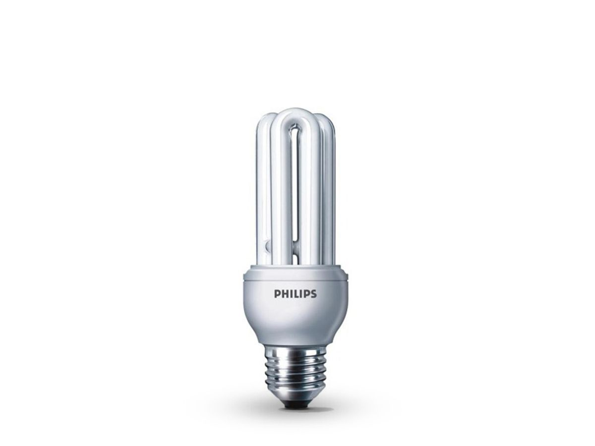 Lâmpada Fluorescente Compacta 8W 2700K 220-240V Dura 8.000h - Philips