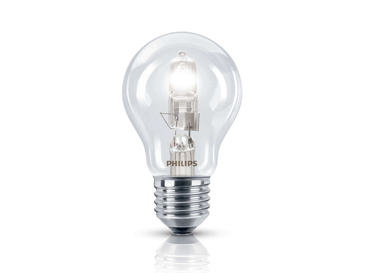 Lampada Halogena Decorativa A55 E27 2000h 630lm 220V - Philips