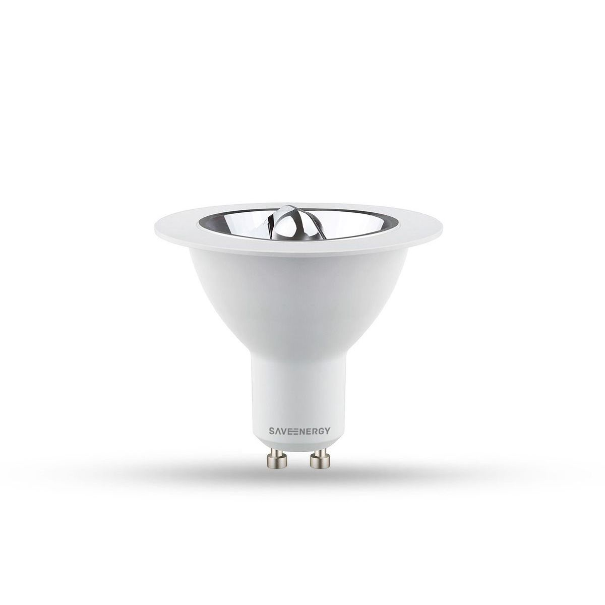 Lâmpada LED AR70 24° GU10  2700K 8W 450 Lúmens IP20 Bivolt - SAVE ENERGY