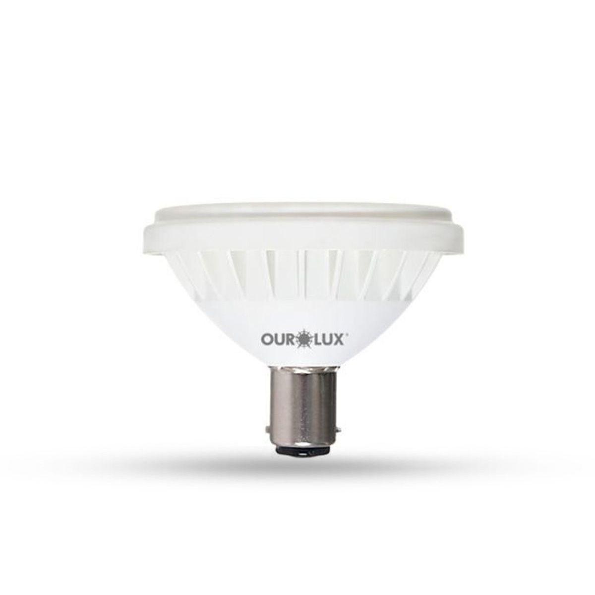 Lâmpada LED AR70 BA15d 7W Bivolt 3000K Bivolt