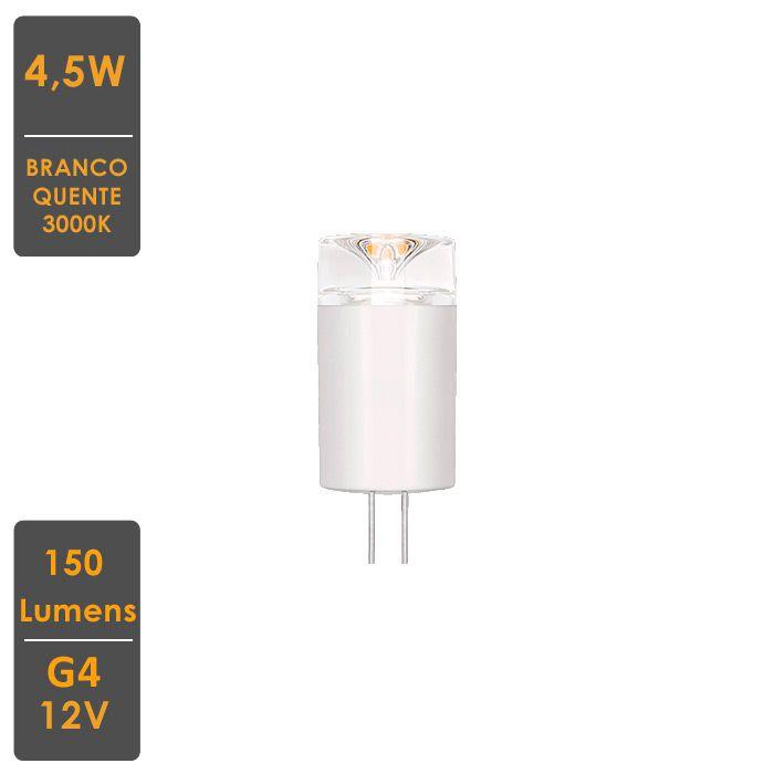 Lâmpada LED Bi-Pino G4 2W 2700K -127V - Stella - STH6103/27