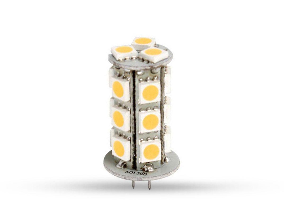 Lâmpada LED Bipino G4 12V 1,2W 3000K IP20 45lm - Brilia