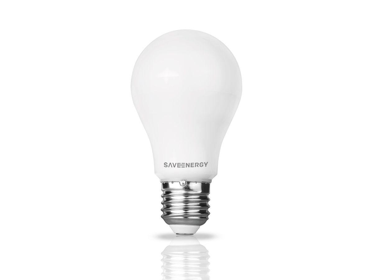 Lâmpada Led Bulbo A60 10W 2700K Funcionamento Automático
