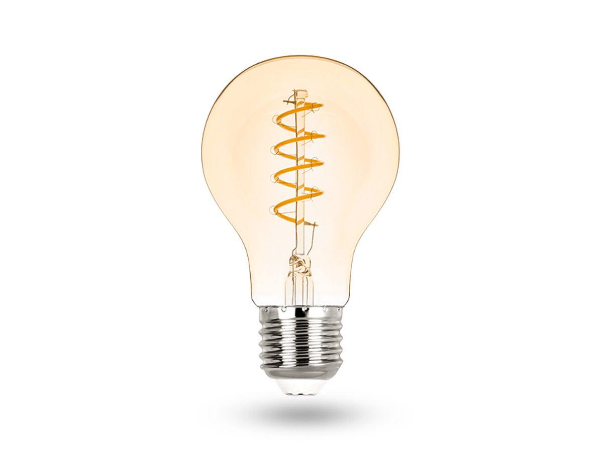 Lâmpada LED Bulbo Filamento E27 2,5W Bivolt Vintage 2400K - Stella - STH8240/24