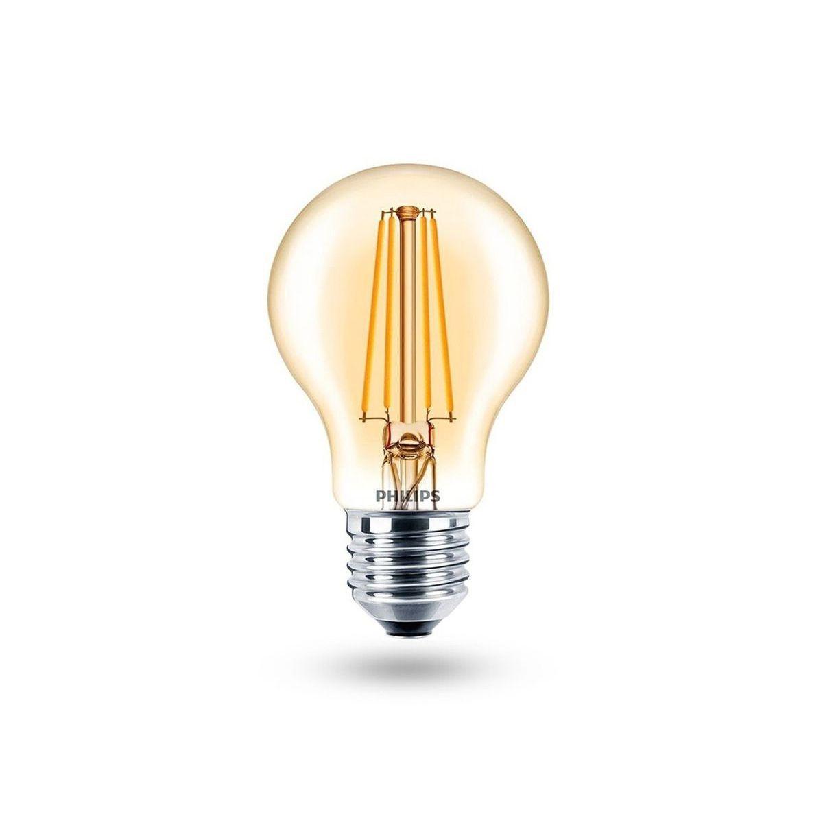 Lâmpada LED Filamento 7,5w A60 E27 2000K 220V Dimerizável - PHILIPS