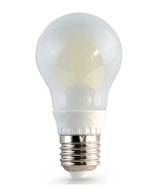 Lâmpada LED Filamento Fosco S40 E27 4W 2700K