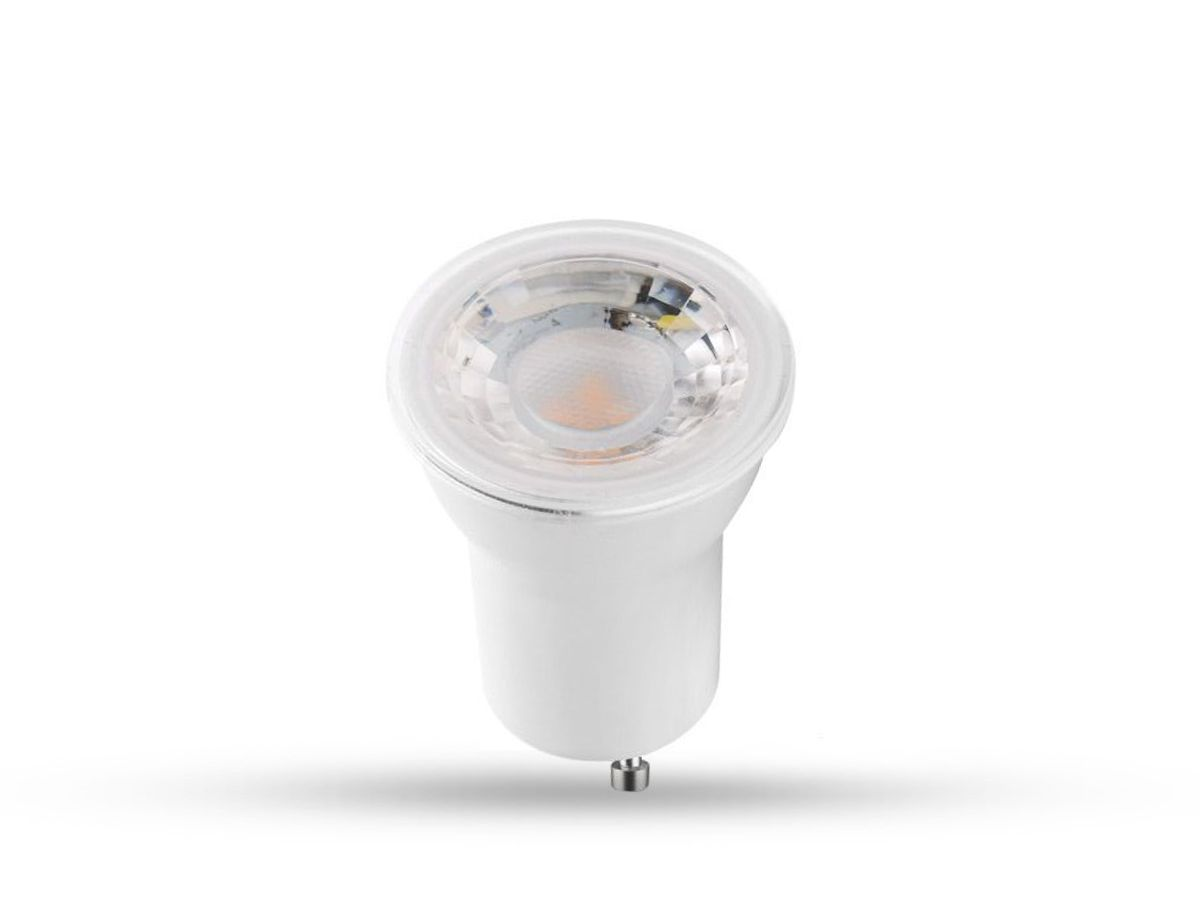 Lâmpada LED Mini Dicroica 4W 2700K GU10 Qualidade Total