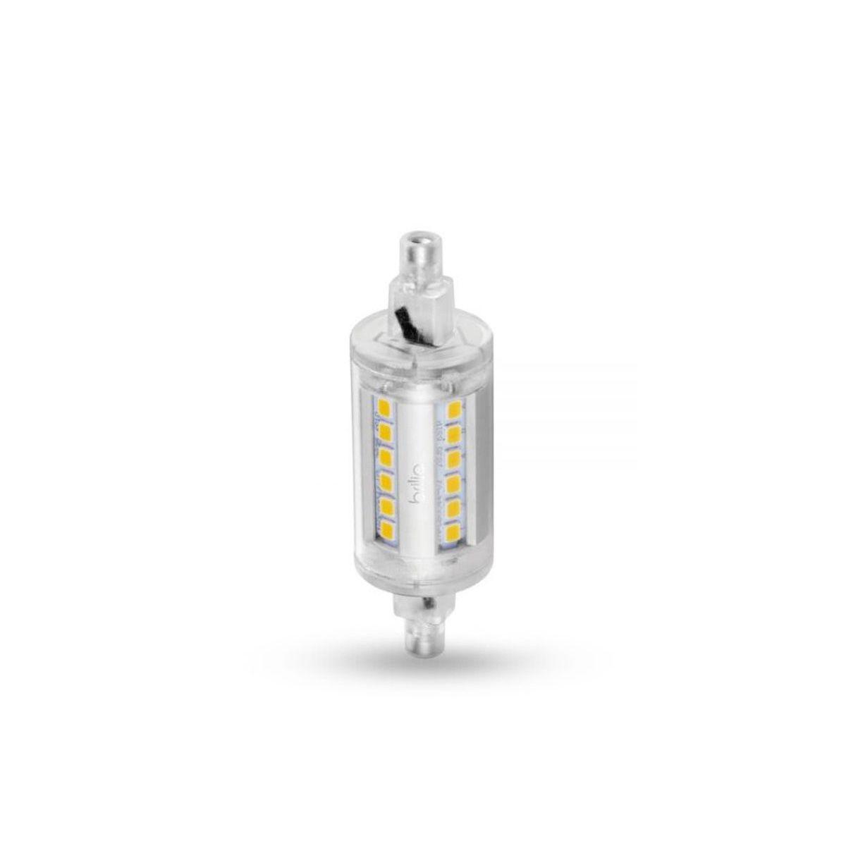 Lâmpada Led R7s 8W Branco Quente