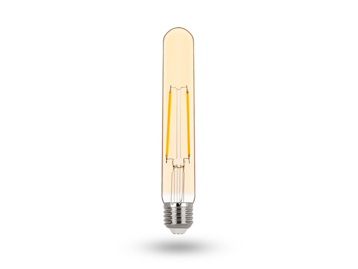 Lâmpada LED Tubo T30 Filamento Vintage 2W 2400K Bivolt -Stella STH6339/24