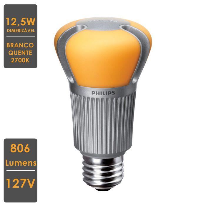 Lâmpada MASTER LEDBulb MV  12,5W E27 2700K 127  Dim.