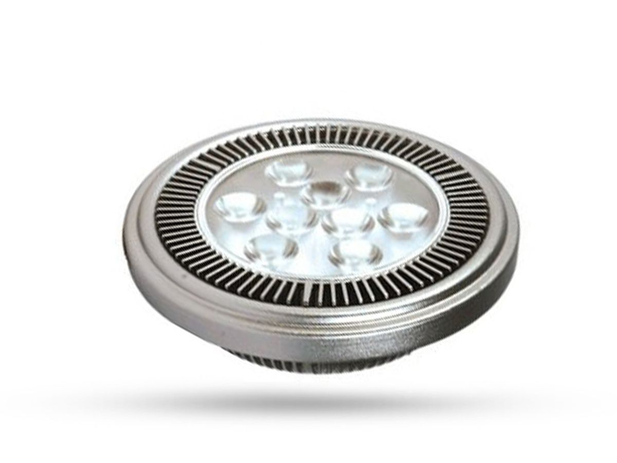 Lâmpada Power LED AR111 15W 3000K IP20 750 Lumens Bivolt - Brilia