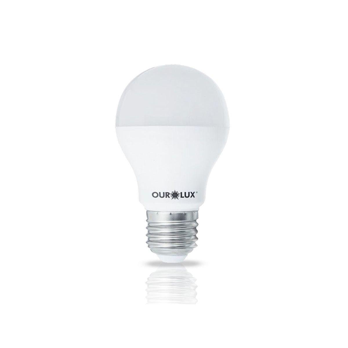 Lâmpada SUPERLED Bulbo A60 9W 6500K -Branco Frio
