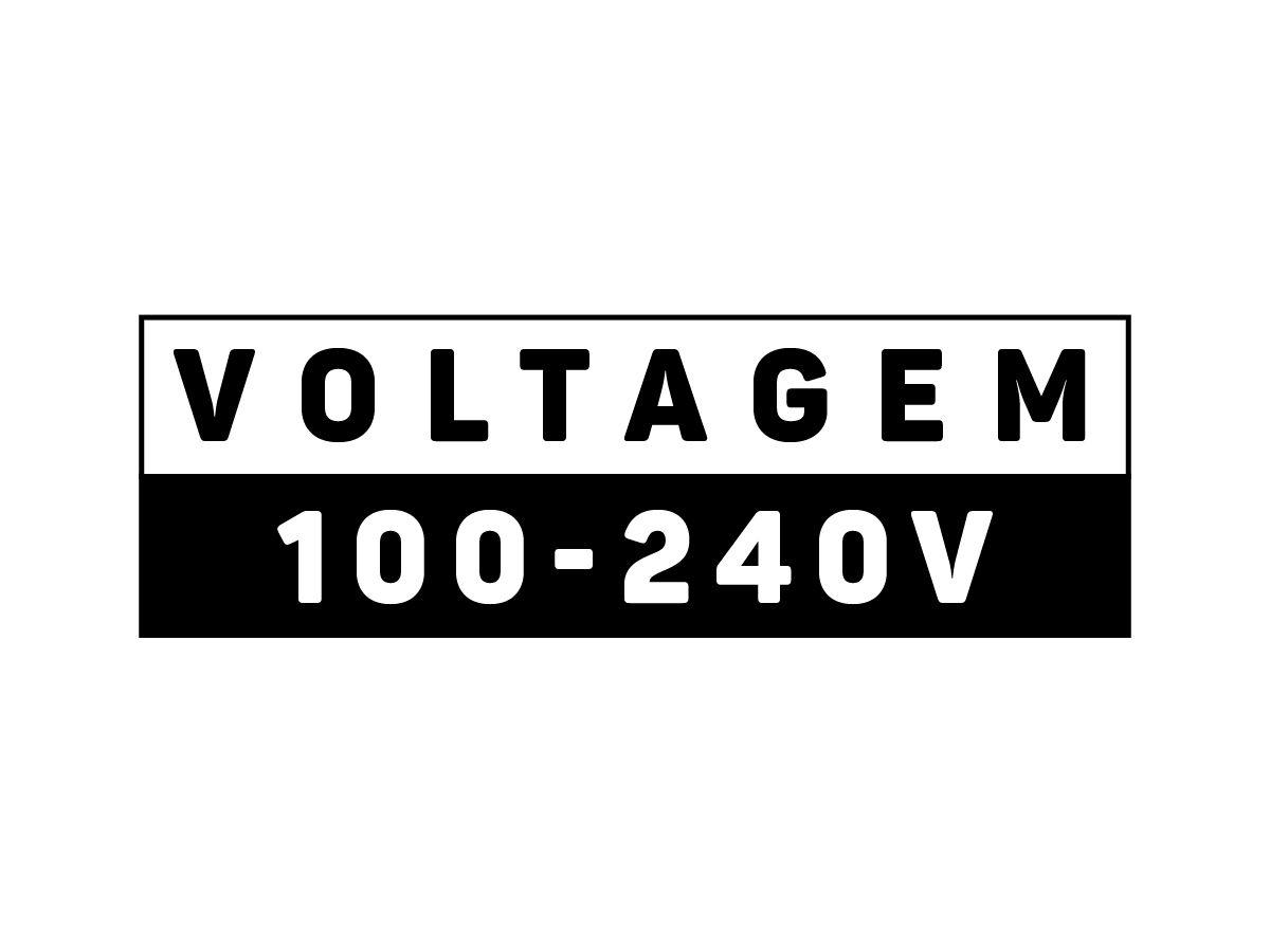 Lumínaria de Emergecia LED Bloco Autônomo 30 LEDs
