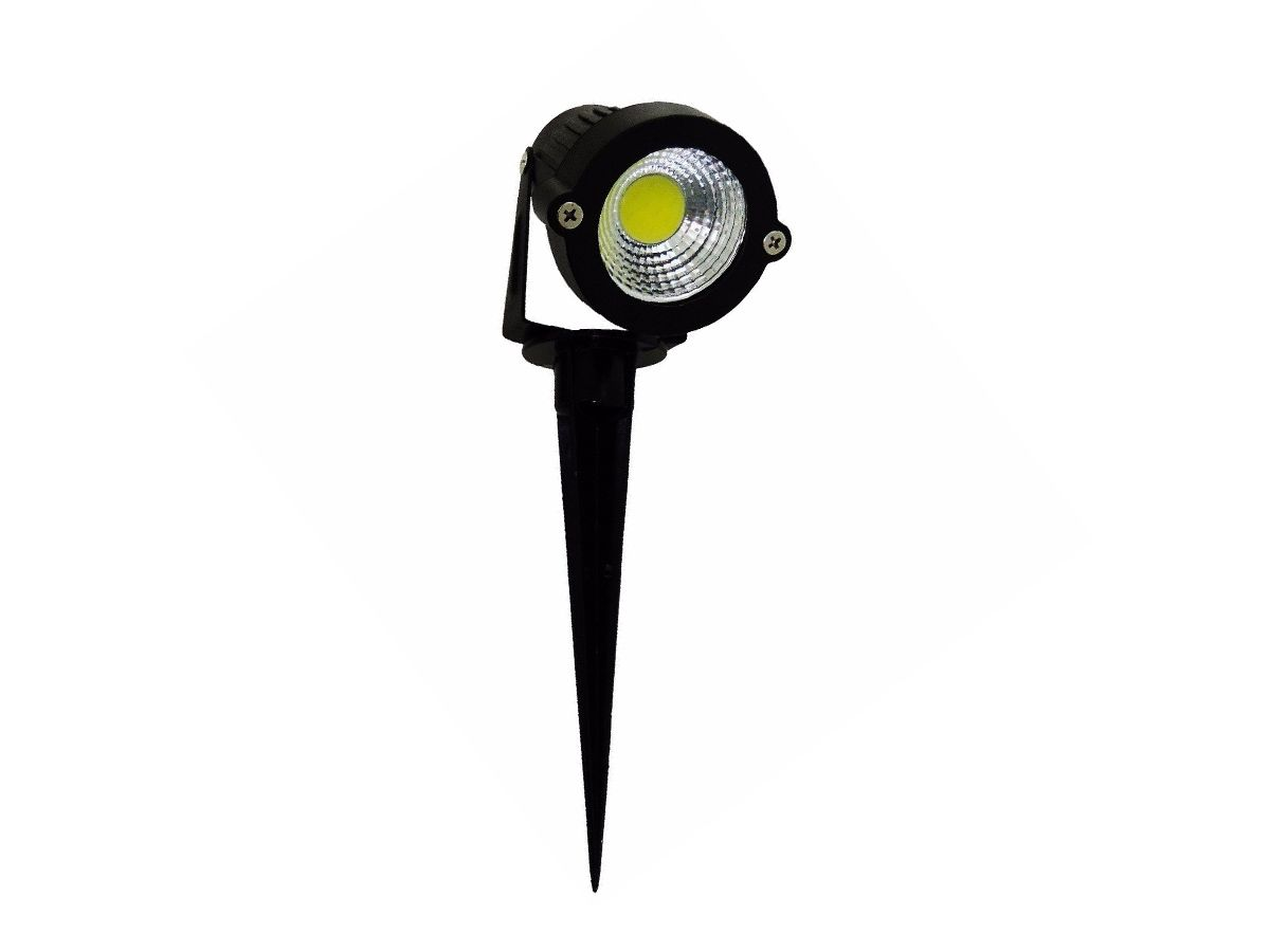 Luminária para Jardim 7W 3000K IP65  SuperLED COB
