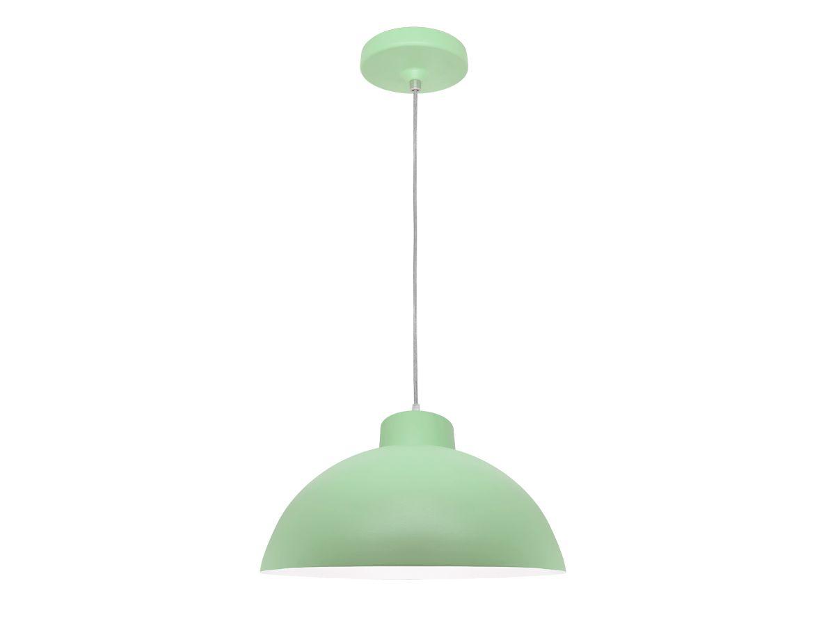 Luminária Pendente Decorativo Verde Bebê