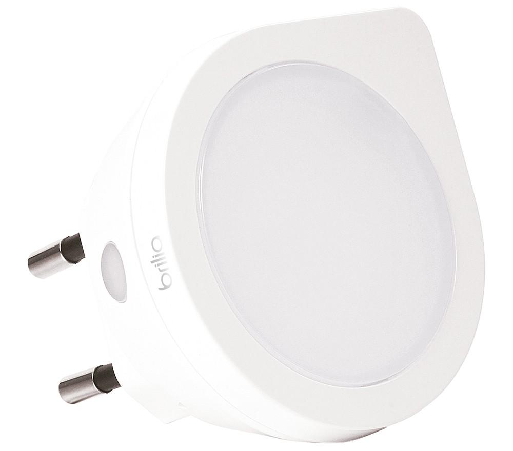 Luz Noturna Sensor Luminosidade 0,4W 6000k - Brilia 431412