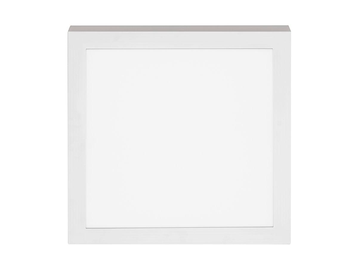 Painel LED Sobrepor Quadrado 18W 3000K 22,5X22,5cm - Stella
