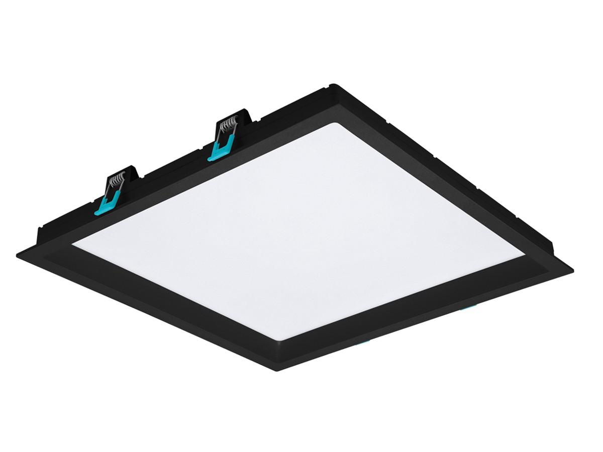 Painel LED de Embutir Deep 30W  Preto Bivolt - Stella STH8905PTO