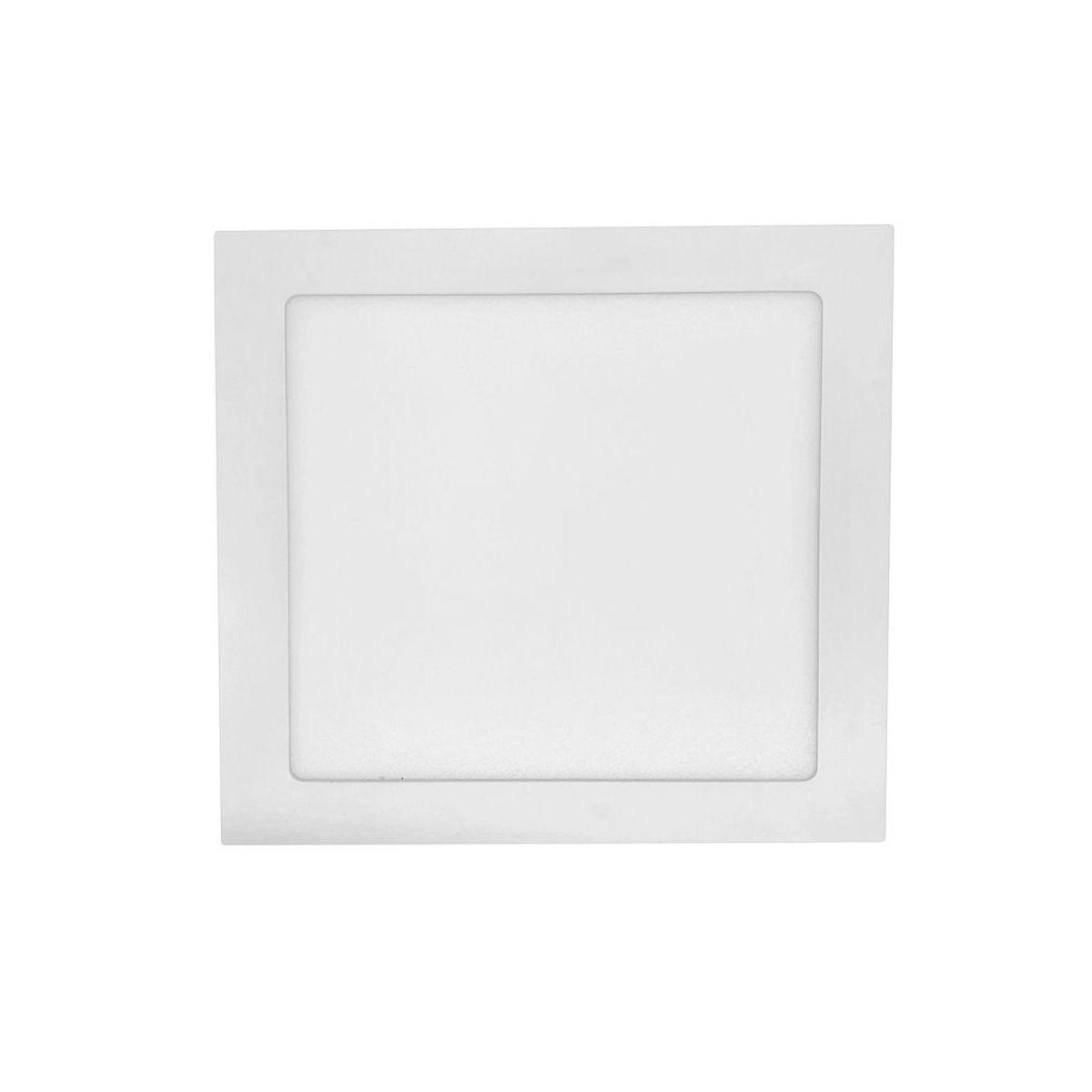 Painel LED de Embutir Quadrado 18W 2700K Bivolt OUROLUX
