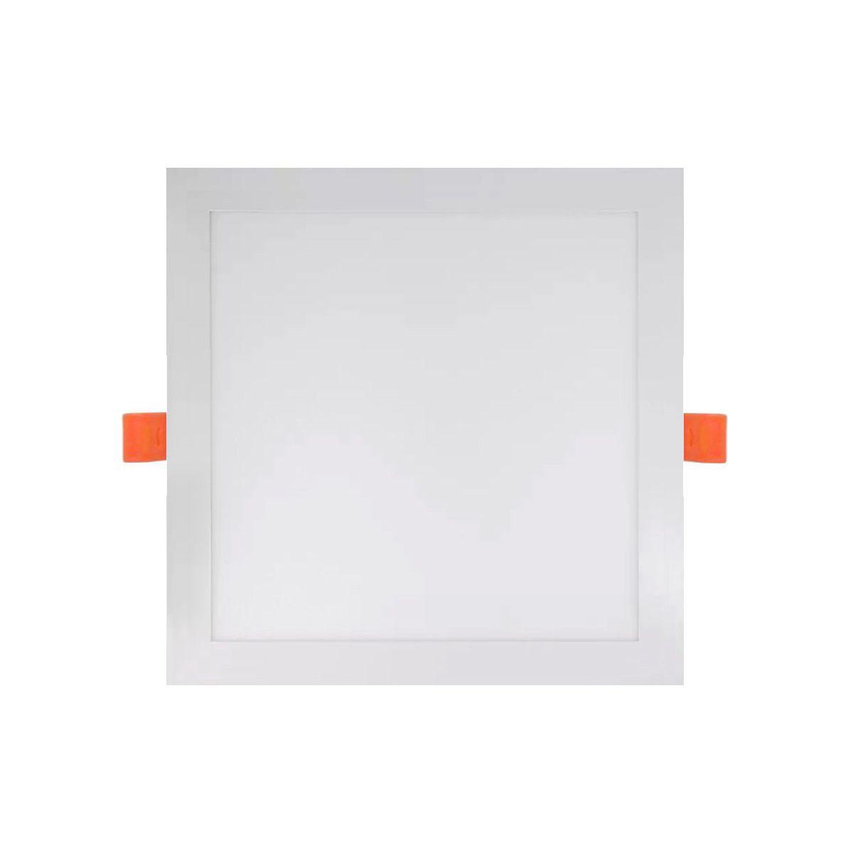 Painel LED Downlights de embutir Quadrado 18W 4000K Bivolt 22X22cm - Initial