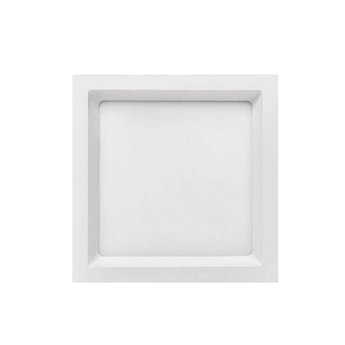 Painel Led Embutir 18w Stella Deep 20,2x20,2cm Sth8903