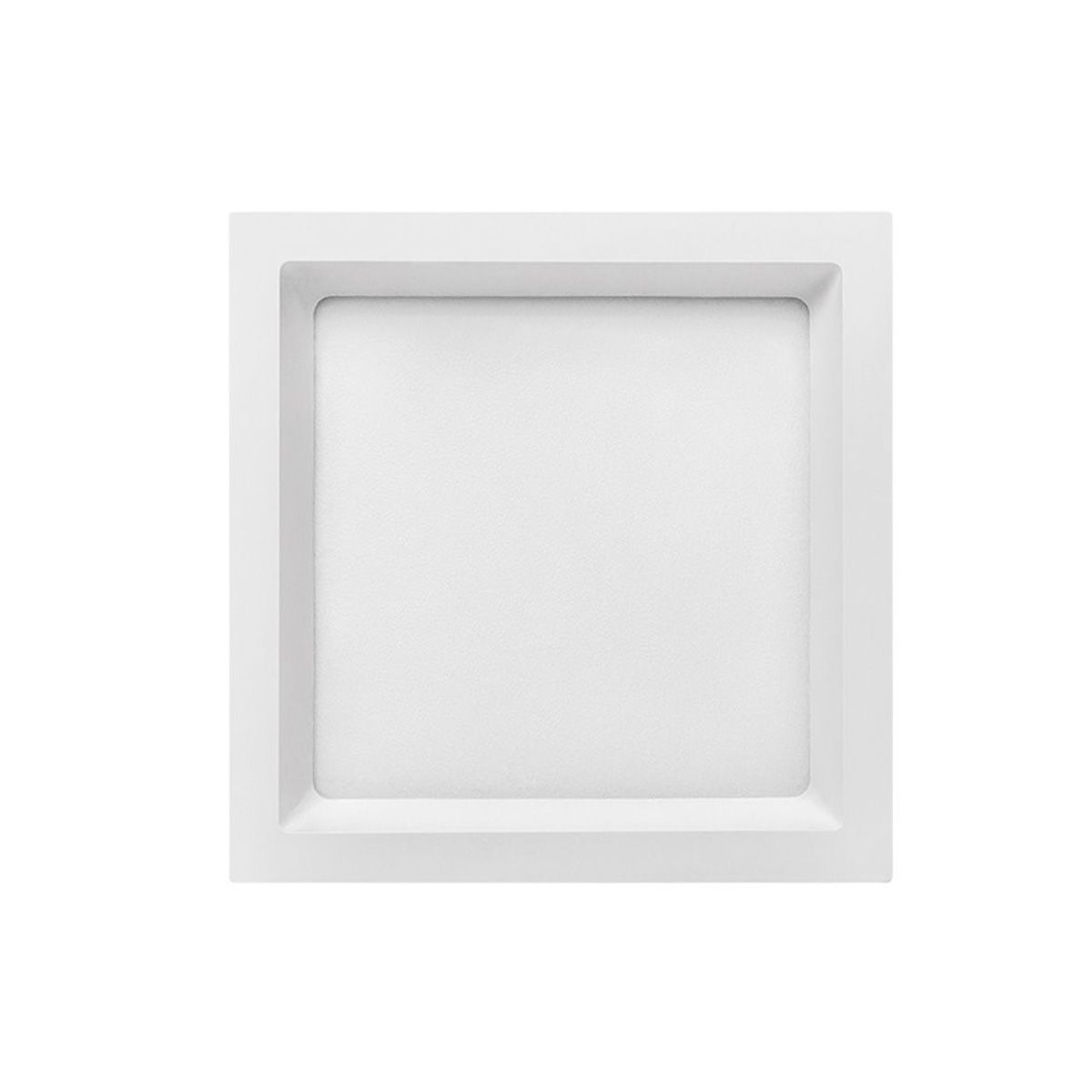 Painel Led Embutir 24w Recuado Stella Deep 26,2x26,2cm Sth8904