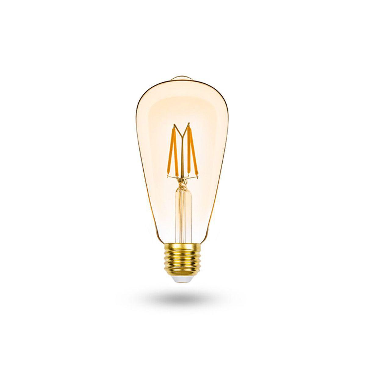 Pendente Aramado Diamante Preto + Lampada