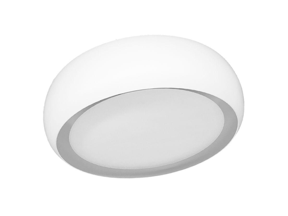 Plafon de Sobrepor Soft Luz Indireta Branco