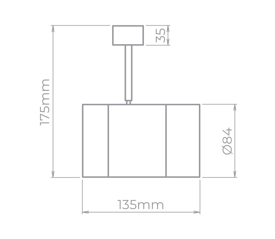SPOT VOLL 14W 1300lm LED INTEGRADO 3000K -SD1810