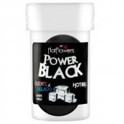 Bolinha Beijável Power Black - Hot Flowers