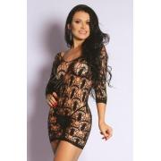 Mini Vestido Sensual Rendado - Yaffa
