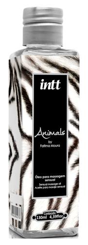 Animals Óleo para Massagem Corporal 130ml - Intt