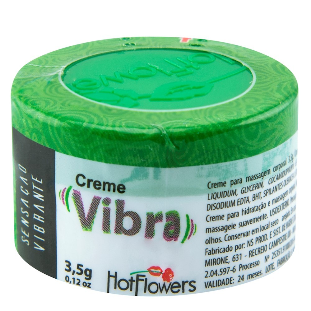 CREME EXCITANTE VIBRA - HOTFLOWERS
