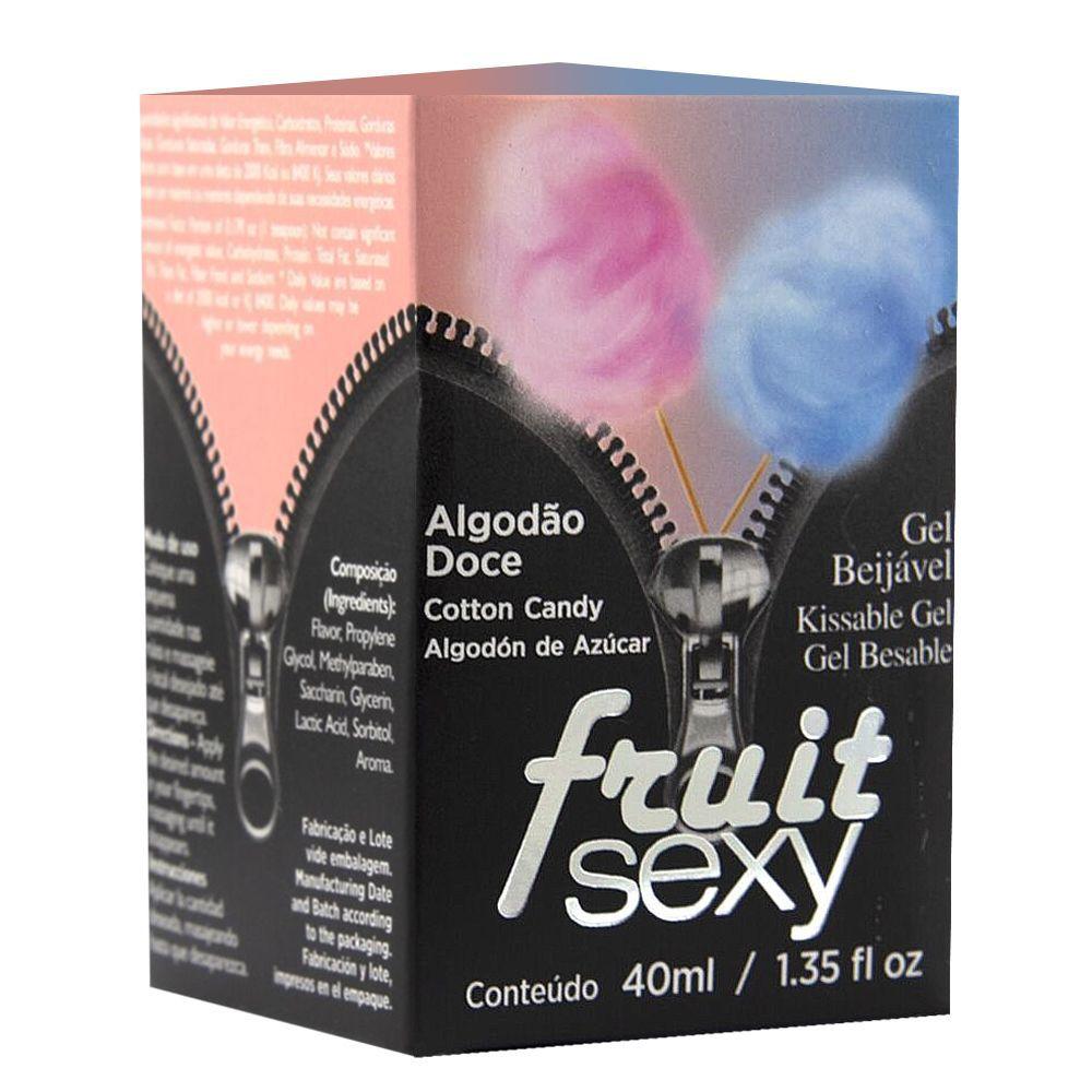 Fruit Sexy Algodão Doce 40g - Intt