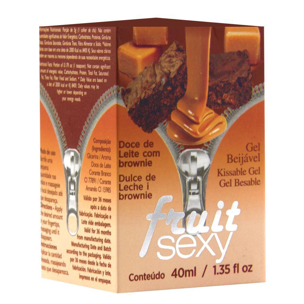Fruit Sexy Doce de Leite com Brownie 40g - Intt