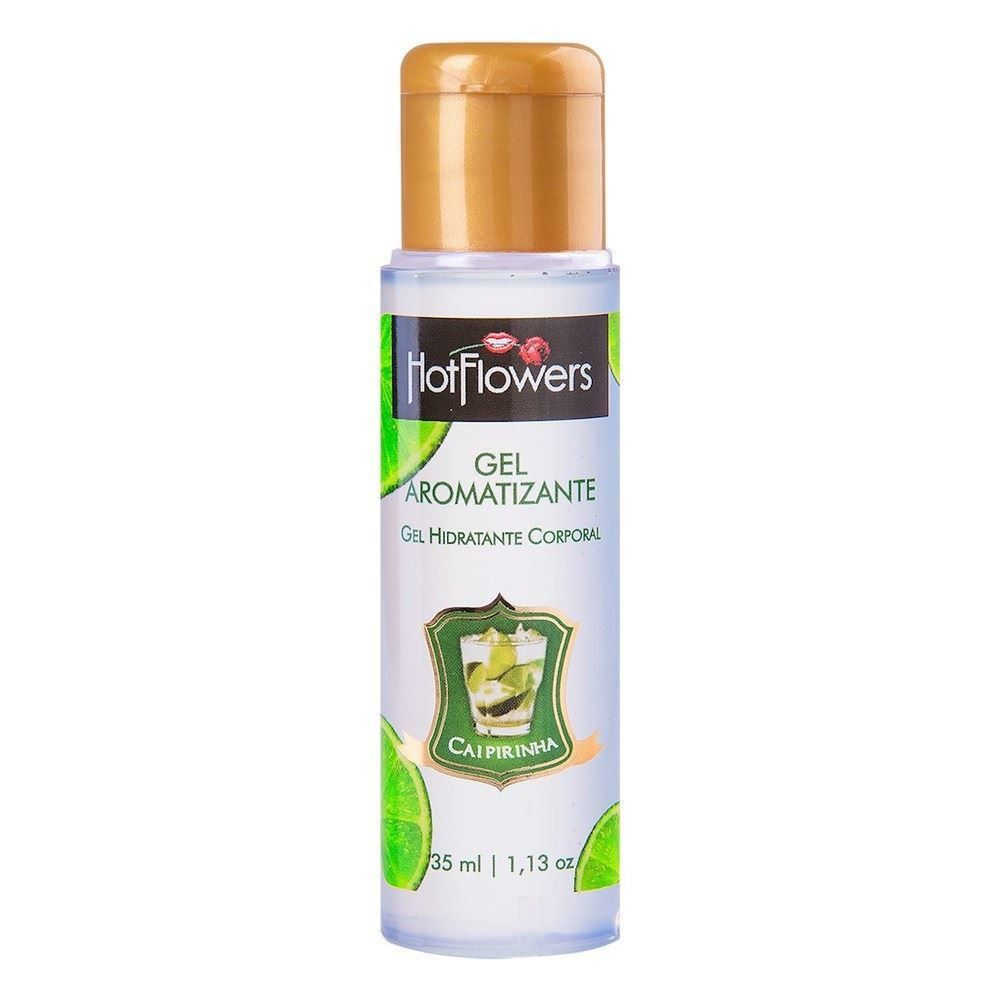 GEL COMESTÍVEL HOT 35 ML- HOT FLOWERS